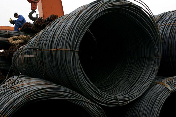 Preços do minério e do aço têm alta na China após 5 dias de queda