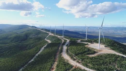 Produção de energia eólica no Brasil cresce mais de 25% até agosto, diz CCEE