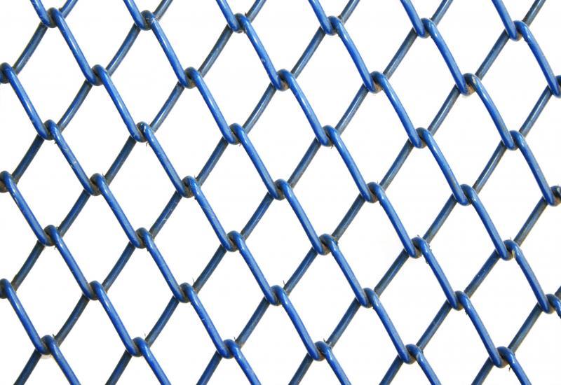 TELA ALAMBRADO C/ PVC AZUL 2.1/2